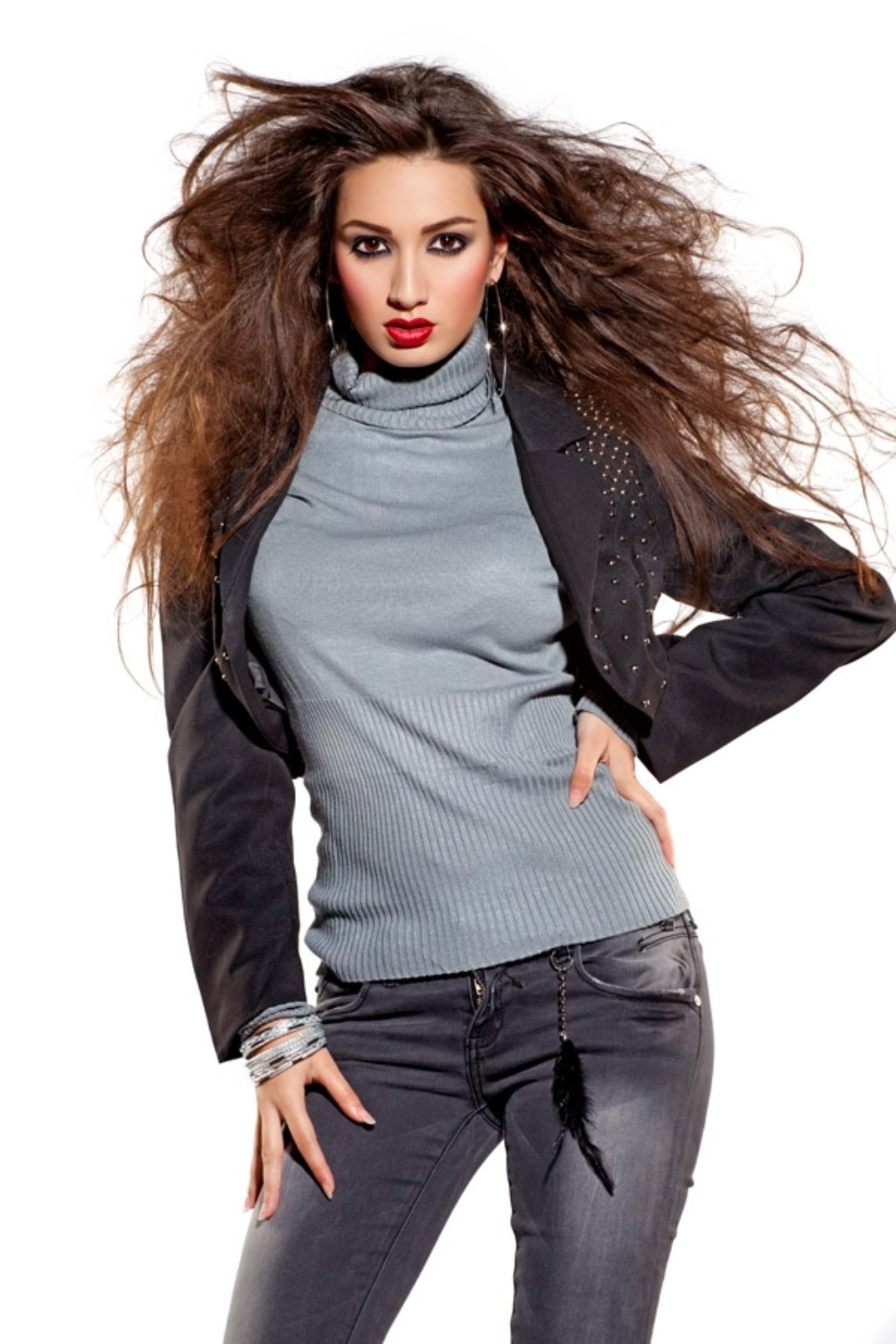 Miisz Gracie is een zangeres, model en actrice. Foto: pr  © Postiljon