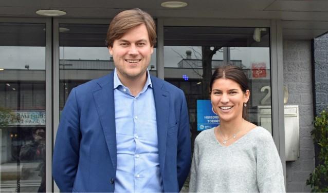 Van der Kooij en Van Leeuwen van Gamecity willen het succes van vorig jaar nog overtreffen. Foto: Renate Mamber