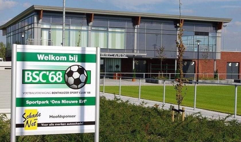 Volgende week de belangrijke wedstrijd tegen NSV'46. De wedstrijd wordt gespeeld op Ons Nieuwe Erf. Foto: pr