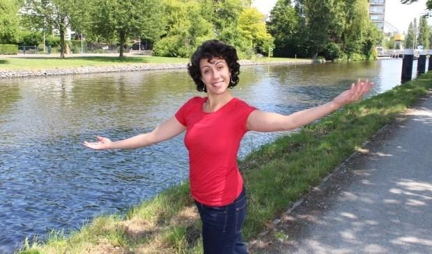 Mira Moreno van Dans aan de Vliet maakt zich zorgen over het nieuwe subsidiebeleid van de gemeente  Foto: Dick Janssen)