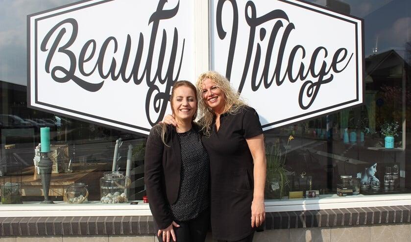 Schoonheidsspecialsite Michelle de Boer en hairstyliste Chantal Bergmans.
