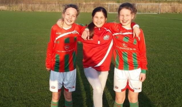 Katja, Alyssa en Morgan (v.l.n.r.). Foto: pr