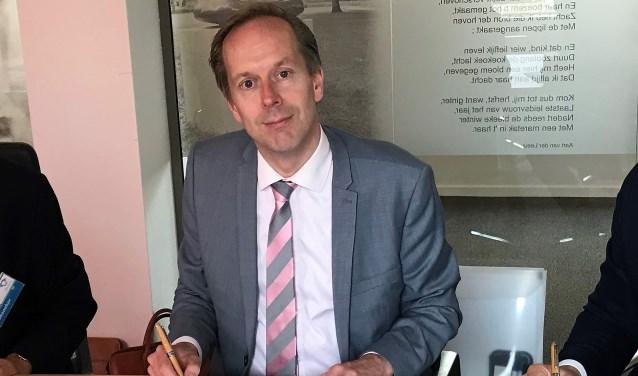 """Wethouder Jan-Willem Rouwendal: """"Ondanks de financiële tegenwind blijven we investeren in de samenleving"""" (archieffoto)."""