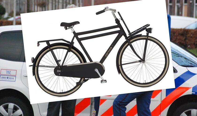 Een soortgelijke fiets.