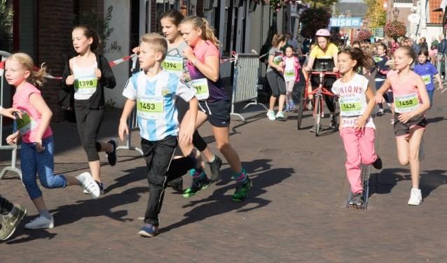 Nieuw dit jaar is de Scholen-Run. Foto: pr