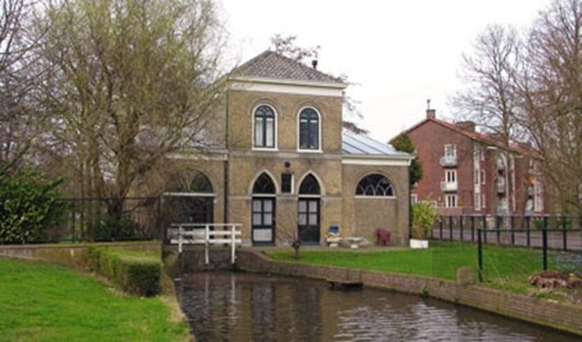 Het gemaal aan de van Woudekade in Voorburg (Foto: gemalen.nl)