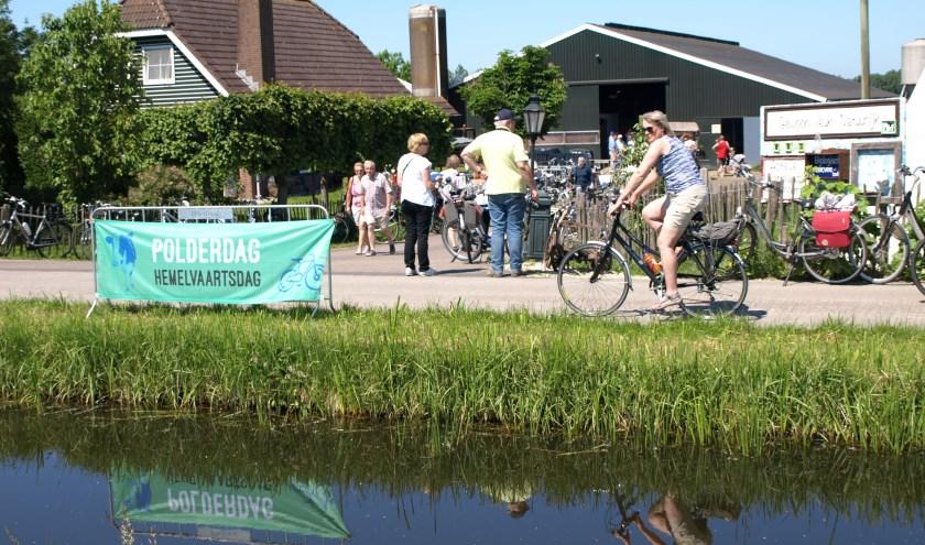 Fietstochten van circa 25 km langs open bedrijven in het buitengebied rondom Leiden, Zoetermeer en Alphen aan den Rijn. Foto: pr