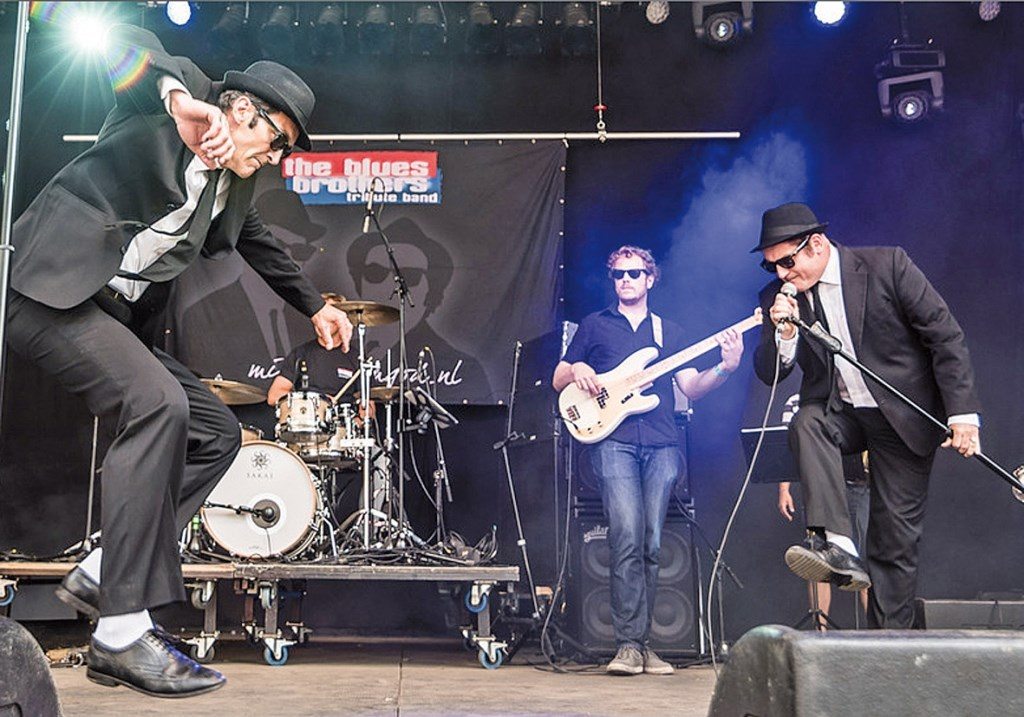 Blues Brothers tribute band. Foto: pr  © Postiljon