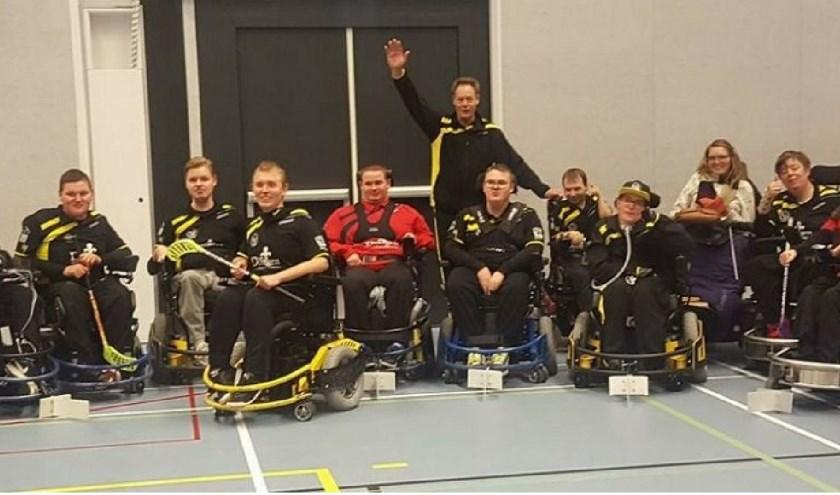 Een deel van de leden van de teams van Doing. Foto: pr