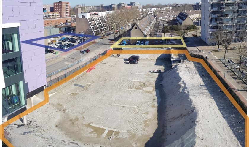 De toekomst van parkeren in de binnenstad roept vele vragen op. Foto uit: Concept Nota van Uitgangspunten Markt 10 en omgeving.