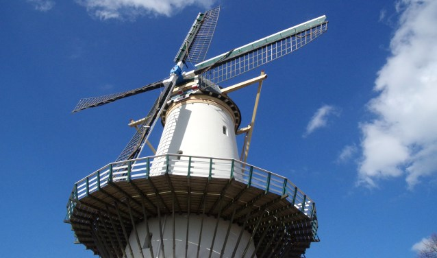 Zaterdag 11 mei is het Nationale Molendag en molen De Hoop doet natuurlijk ook weer mee. Foto: Cor Groen
