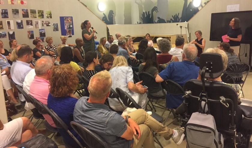 De thema avond over sociale inclusie werd goed bezocht. Foto: pr