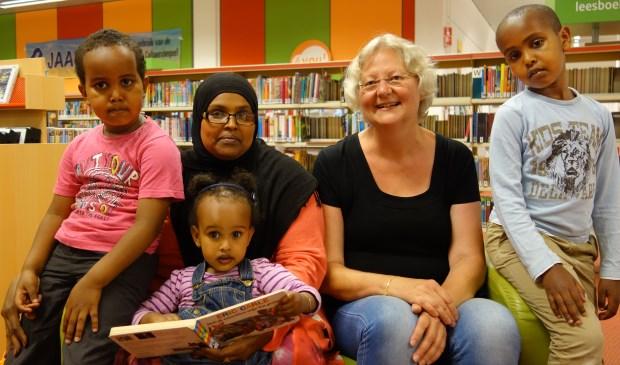 VoorleesExpress Zoetermeer kan nog enthousiaste voorlezers gebruiken. Foto: Henk Leentfaar