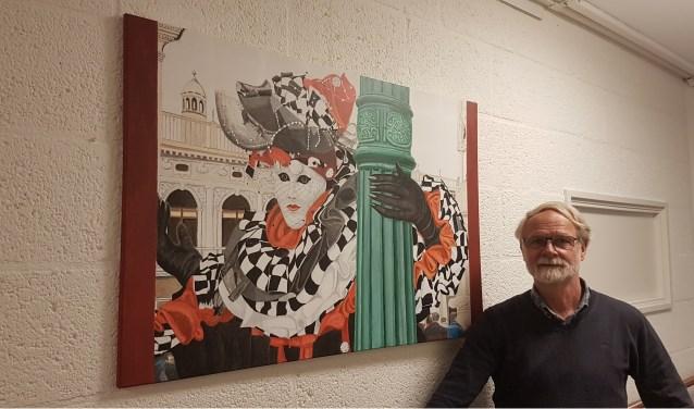 Paul Bonke schildert portretten, landschappen, moderne of maatschappelijk geëngageerde werken. Foto: pr