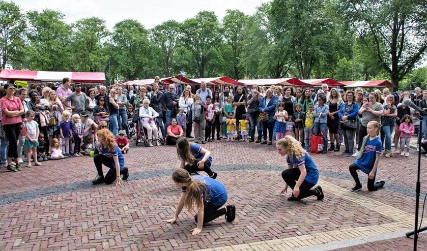 Er waren diverse demonstraties, presentatie, workshops en optredens (foto: Sebastiaan Barel).