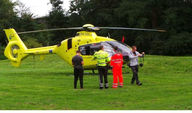 Archieffoto traumahelikopter (foto: Tom Lek).