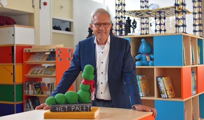 Hans Koevoets beleefde vele hoogtepunten bij basisschool Het Palet. Foto: Renate Mamber