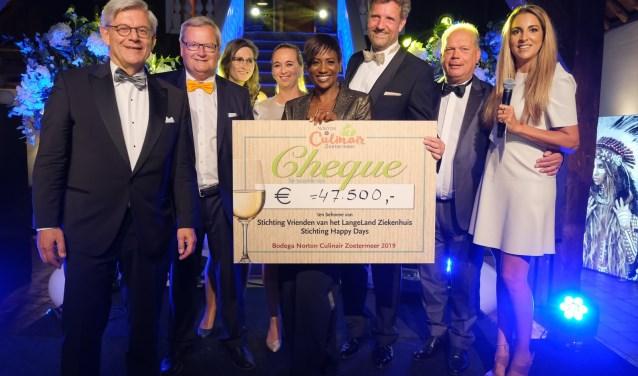 De opbrengst is voor Stichting Happy Days en de Vrienden van het LangeLand Ziekenhuis. Foto: Chris Lans