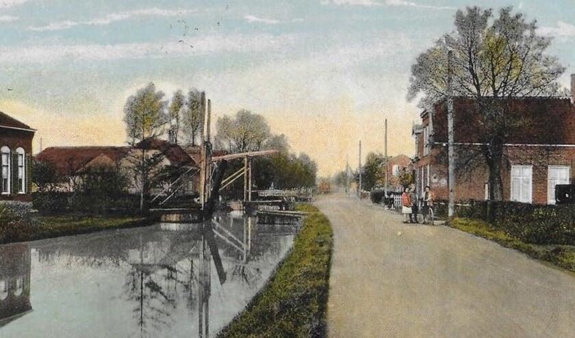 De Veenweg te Noordorp in vroeger tijden (archieffoto).