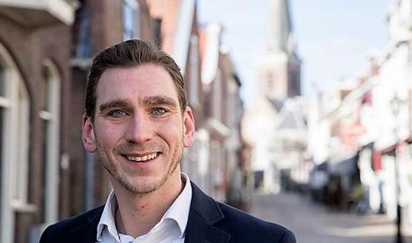 Gijs Dupont is unaniem gekozen als nieuwe fractievoorzitter voor het CDA in Leidschendam-Voorburg (foto: pr).
