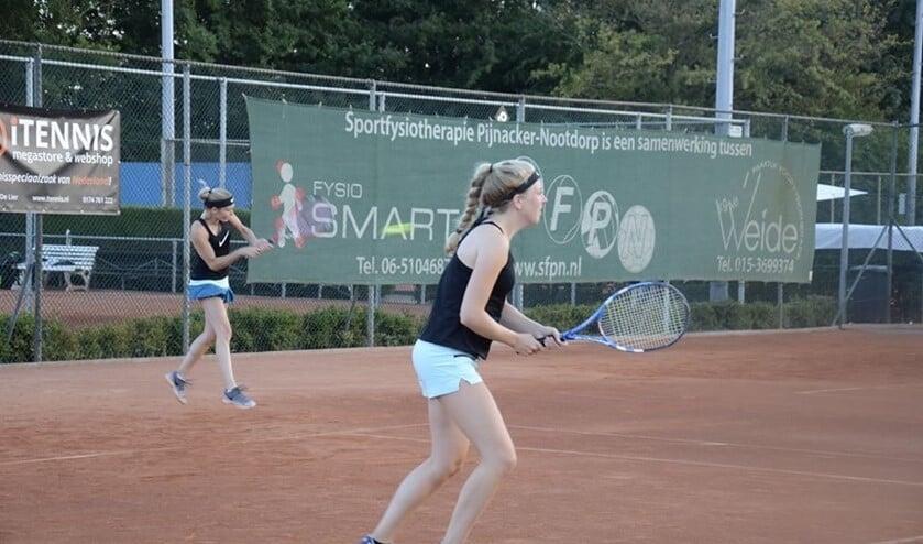 Opperste concentratie tijdens een van de wedstrijden.