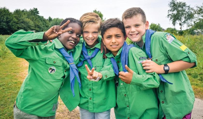 Scouting Impeesa Zoetermeer is een eigentijdse scoutinggroep waar een hoop plezier valt te beleven voor iedereen. Foto: pr