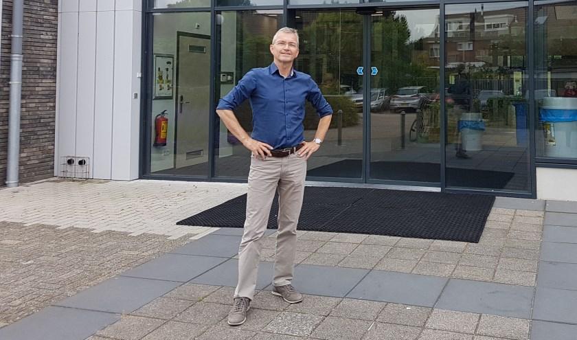 Naast het lesgeven in Aardrijkskunde  is Jan van Kerkhof ook 20 jaar mentor van de 4/5 Havo klassen geweest. Foto: Jana Hurtado-Panek