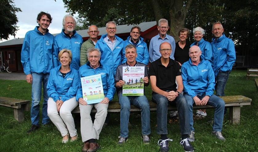 Het kernteam dat de Halve Marathon Oostland organiseert.