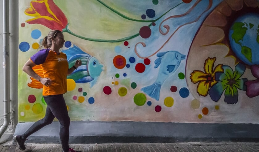 Fleur loopt in november de marathon van New York voor KiKa. (Foto: Fred Leeflang Design)