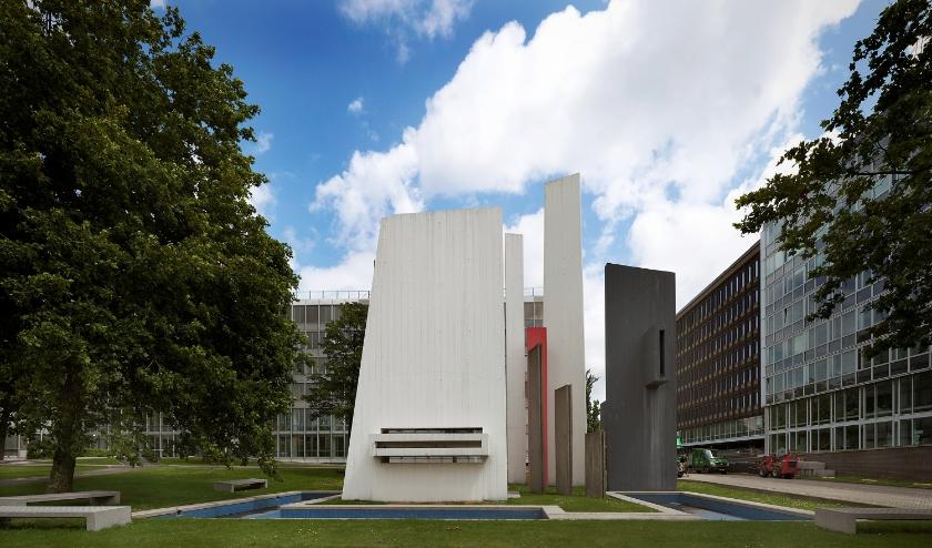Monument voor Rijkswaterstaat in Den Haag. Foto: Gert Jan van Rooij