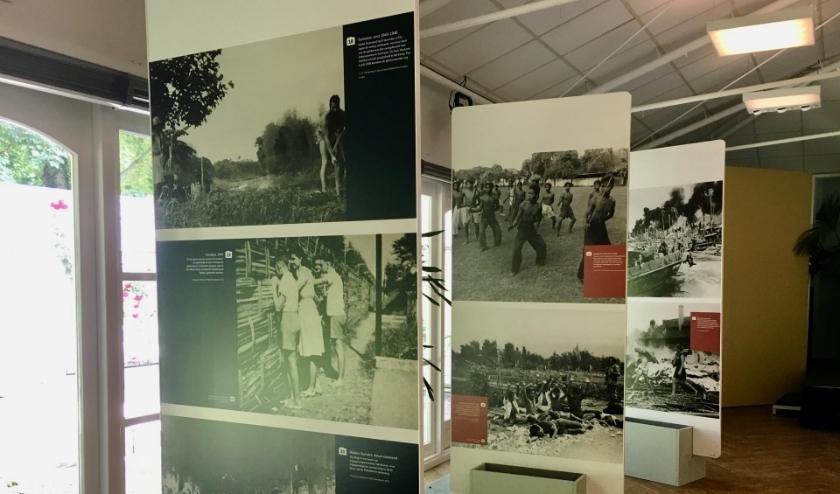 De Tweede Wereldoorlog Overzee in 50 foto's - Nu te zien in Museum Sophiahof in Den Haag (van te voren reserveren). Foto: pr