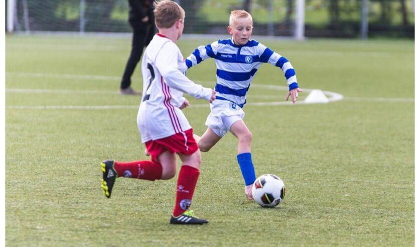 DVC Delft wil een nieuwe mini F elftal opstarten. Foto: pr