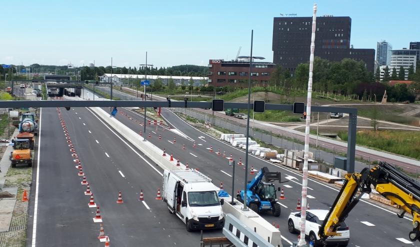 De Rotterdamsebaan gaat de de snelwegen (A4/A13) en de Centrumring van Den Haag met elkaar verbinden. Foto: Ronald Koster