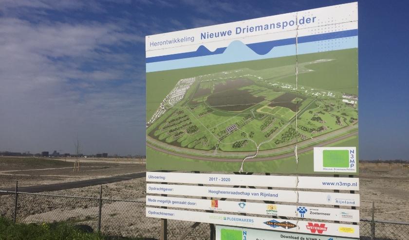De inrichting van het nieuwe natuur- en recreatiegebied, onder andere gelegen aan de rand van Leidschenveen, nadert spoedig zijn voltooiing. Foto: Peter Zoetmulder