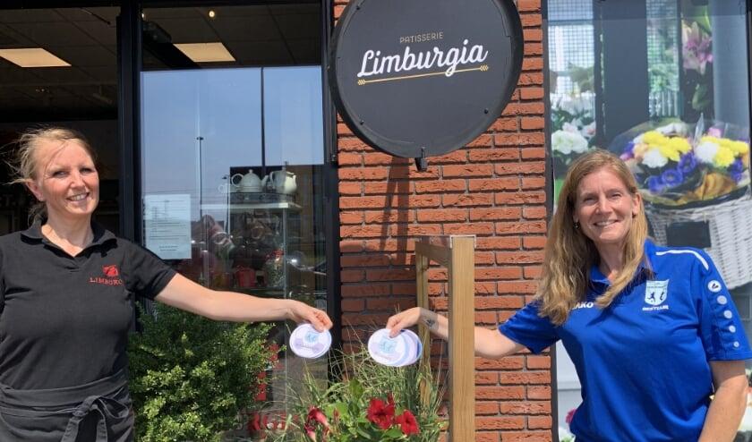 Met de actie bedankt SV Leidschenveen al haar vriijwilligers en steunt tevens de lokale winkeliers. Foto: pr