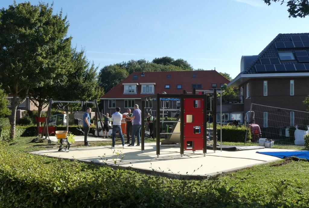 De speelplek aan de Serpentine in Ypenburg (Bosweide) heeft de primeur voor Den Haag. Foto: Dick Muijs  © Telstar Uitgeverij B.V