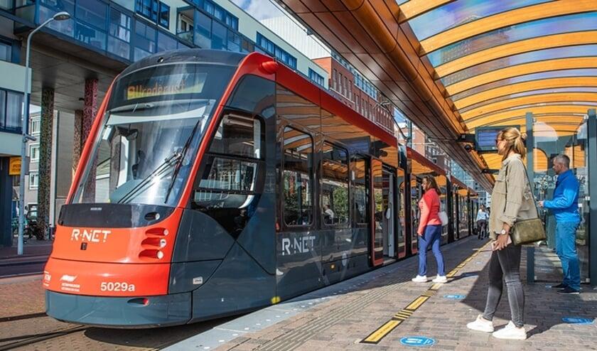 In totaal is er een bedrag van 462 miljoen euro mee gemoeid. De HTM draagt 15 miljoen euro bij en de gemeente Den Haag besluit in het najaar over een bijdrage van 45 miljoen euro. Foto: pr