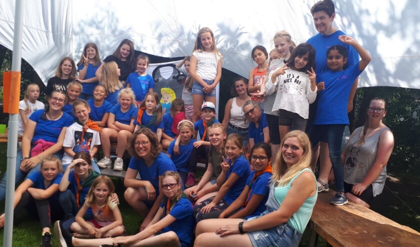 Scouting Satoko Kitahara gaat op zomerkamp met meiden uit Leidschenveen en Leidschendam. Foto: pr