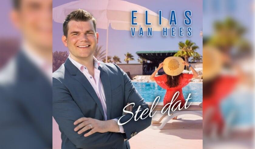 Elias van Hees: 'Met deze single hoop ik opnieuw veel mensen blij te maken.' Foto: pr