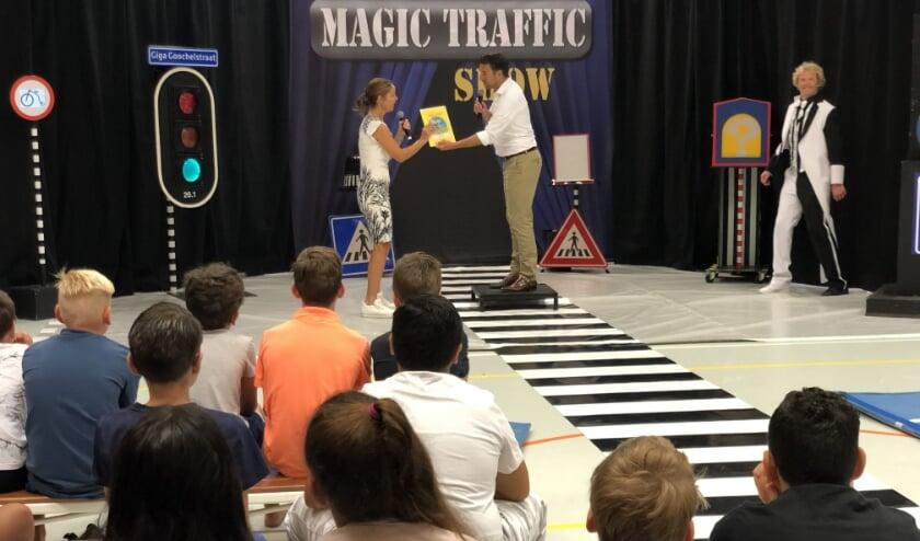 Ook werd deze dag de Magic Traffic Show geopend door wethouder Robert van Asten. Foto: pr