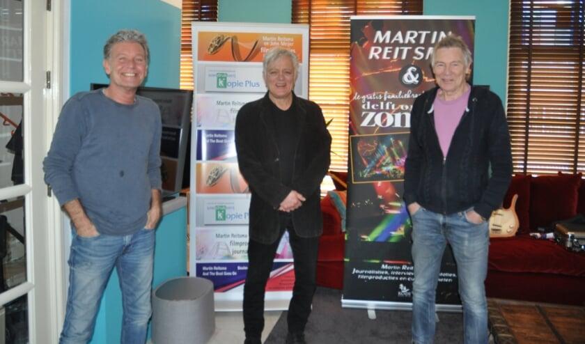<p>Erik Kuylaars, Robert Jan Stips en Rinus Gerritsen (v.l.n.r.). Tekst en foto: Martin Reitsma</p>