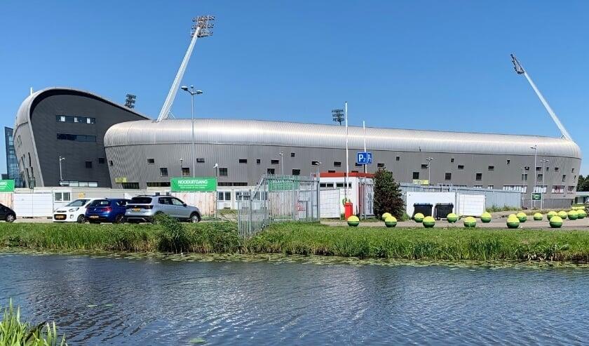 <p>Concrete twijfel over de veiligheid van het stadion was er op voorhand niet. Foto: Lucy Li</p>