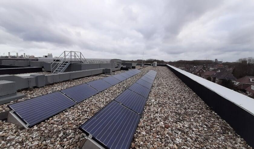 <p>Doe als inwoner van Ypenburg mee met het &nbsp;zonnepanelenproject op Lyceum Ypenburg. Op de school kunnen er naar verwachting zo&rsquo;n 400 panelen worden geplaatst. Foto: pr</p>