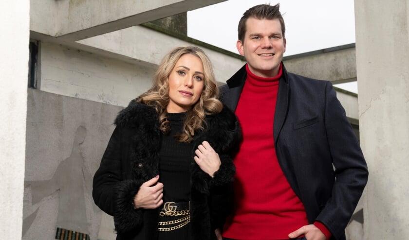 <p>Elias van Hees met Stephanie Paulino. Foto: Rene Oudshoorn</p>