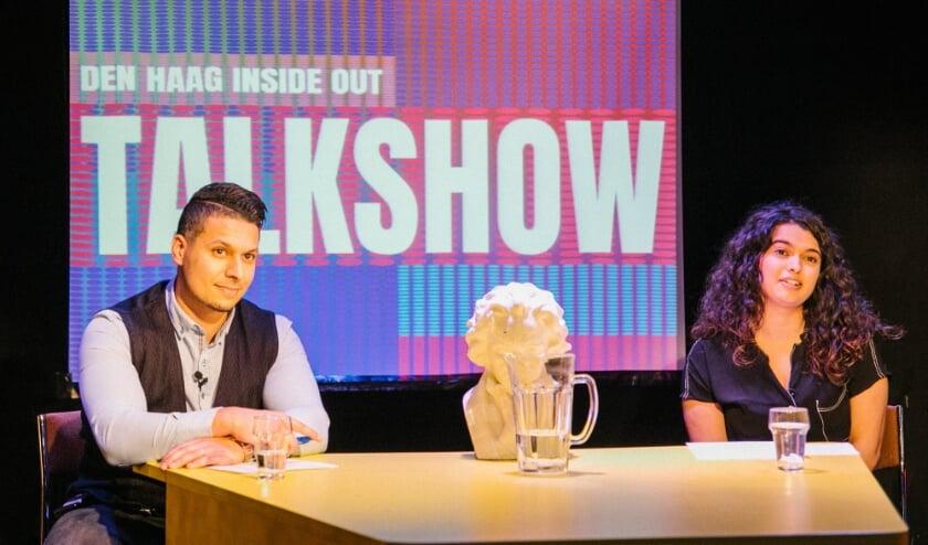 <p>De talkshow van Den Haag Inside Out van en voor Haagse jongeren. Foto: gemeente Den Haag<br><br><br></p>