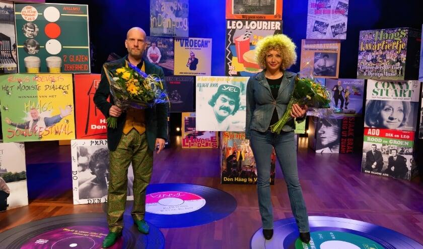 <p>Ook zanger Anne-Tjerk Mante en zangeres Bianca Netten gaan naar de finale op vrijdag 14 mei. Foto: Richard Mulder</p>