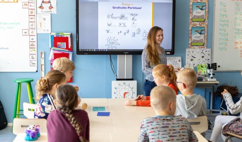 <p>Ook op Octantschool Beatrix wordt het Nationaal Programma Onderwijs (NPO) ingezet. Foto: pr</p>