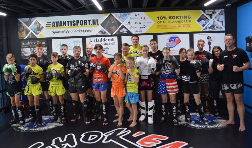 <p>De Jeugd kickboksers zijn klaar voor Club Fightday 5. Tekst en foto: Ed Nulle</p>