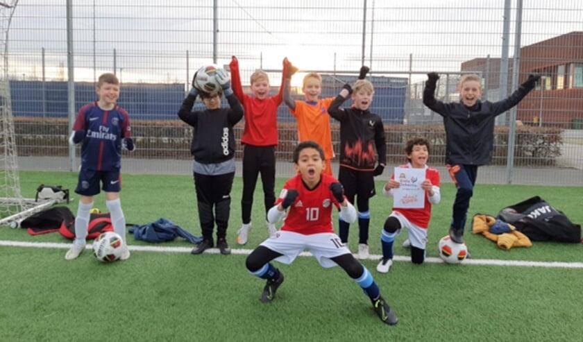 <p>De jeugd van SV Leidschenveen staat te popelen! (Foto: PR)</p>