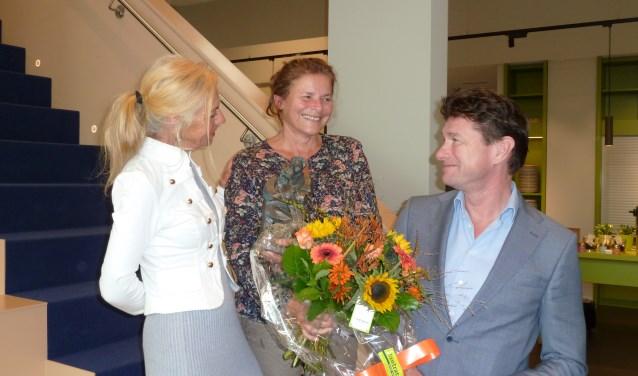 Foto v.l.n.r.: Margriet Czinder, Mieke Konings en Frans van de Vrande